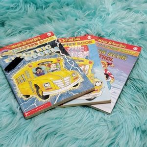 3 magic school bus books